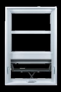 Fenêtre de la collection Classique - Type Auvent - Groupe Royalty
