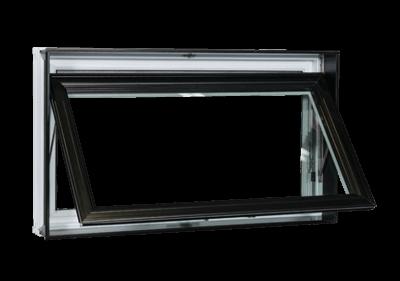 Fenêtre de la collection Prestige- Type Auvent - Groupe Royalty