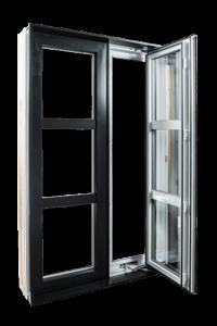 Fenêtre de la collection Zen - Type Battante - Groupe Royalty