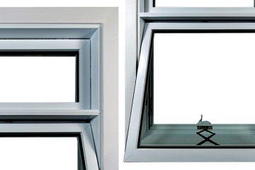 Fenêtre à auvent